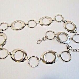 Nine West Circle Chain Link Belt